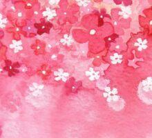Falling Petals Sticker