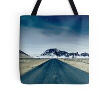 Country road in Iceland Tote Bag
