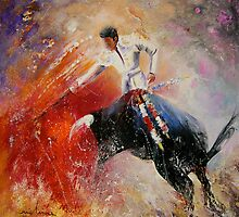 2010 Toro Acrylics 05 by Goodaboom