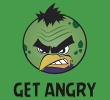 Get Angry - Hulk Bird by YouKnowThatGuy