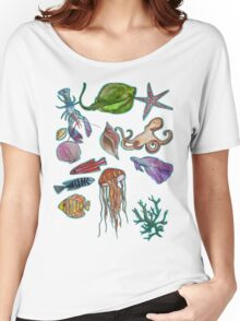 under the sea (for lucy) Women's Relaxed Fit T-Shirt