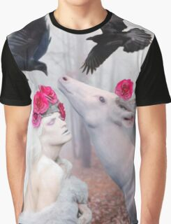 ~ The White Deer ~ Graphic T-Shirt