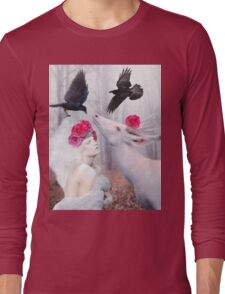 ~ The White Deer ~ Long Sleeve T-Shirt