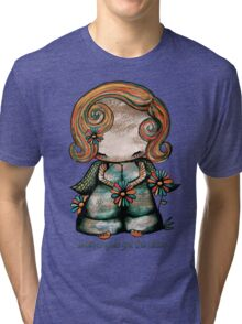 Even Angels Get the Blues TShirt Tri-blend T-Shirt
