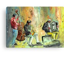 Ireland - Street Musicians in Dublin Canvas Print