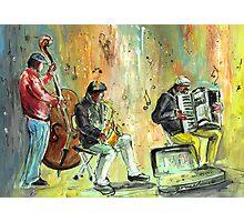 Ireland - Street Musicians in Dublin Photographic Print