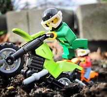 Will likes bikes. by bricksailboat