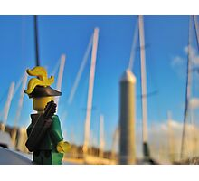 Many Masts Photographic Print