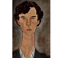 Modigliani Sherlock, BBC Sherlock Photographic Print