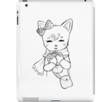 Kitten with a Present iPad Case/Skin