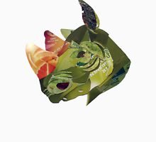green rhino portrait Unisex T-Shirt