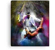 Bruce Springsteen and Clarence Clemons Canvas Print