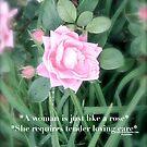 Like a rose  by DreamCatcher/ Kyrah