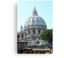 The Basilica Canvas Print