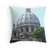The Basilica Throw Pillow