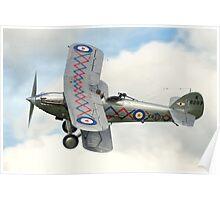Hawker Demon I K8203 G-BTVE Poster