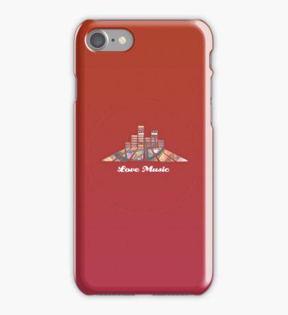 Love Music. iPhone Case/Skin