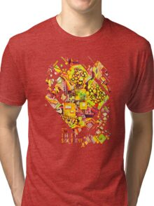 Distortion Sympathy - Watercolor Painting Tri-blend T-Shirt