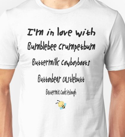 I'm in love with Benedict Cumberbatch Unisex T-Shirt