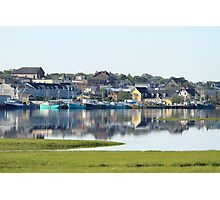 Yarmouth Harbourfront in June Photographic Print