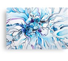 Sub-Atomic Stress Release Therapy - Watercolor Painting Canvas Print