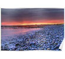 Churn Sunset (HDR) Poster