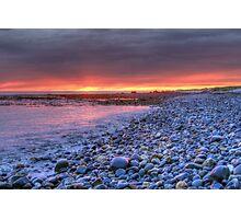 Churn Sunset (HDR) Photographic Print