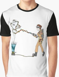 Casper meets The Ghostbusters Graphic T-Shirt