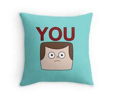 A Jeff is You Throw Pillow