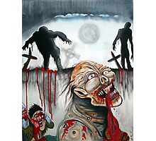 Zombie Moon Photographic Print