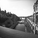 """The """"Colonel By"""" Canal Locks in Ottawa by Max Buchheit"""