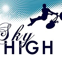 sky high bmx by maydaze