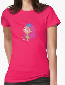 HANA-PRINCESS OF THE SEA Womens Fitted T-Shirt