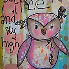 Be Free Owl by GinaBAhrens
