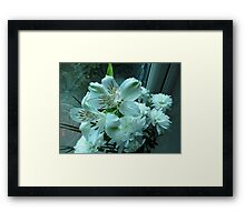 Surprise Lilies Framed Print