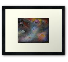Dragons Seige Framed Print
