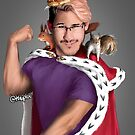 Markiplier - King of the Squirrels (without text) by Shuploc