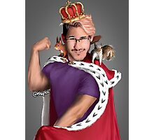 Markiplier - King of the Squirrels (without text) Photographic Print