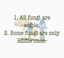 Edible Fungi One Piece - Short Sleeve