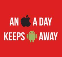 An Apple a day... by Borrel