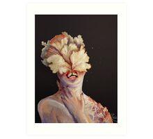 nude portrait Art Print