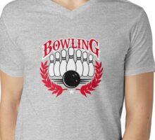 bowling  Mens V-Neck T-Shirt