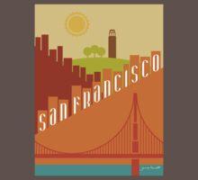 Sunny San Francisco Kids Clothes