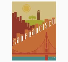 Sunny San Francisco One Piece - Long Sleeve