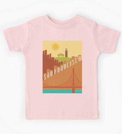Sunny San Francisco Kids Tee
