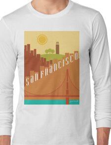 Sunny San Francisco Long Sleeve T-Shirt