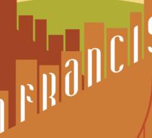 Sunny San Francisco Sticker