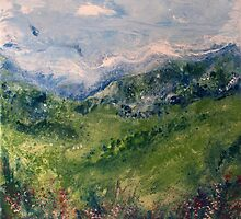 Mountain Field 3 by Deborah Townsend