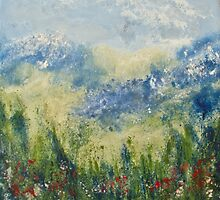 Mountain Field 5 by Deborah Townsend