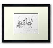 Attuning to the Spheres Framed Print